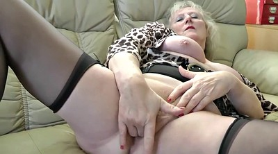 Claire, Sofa, Mature squirting