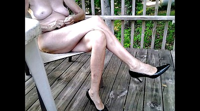 Mature feet, Anal compilation, Anal foot