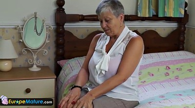 Granny solo, Milf busty solo, Busty mature