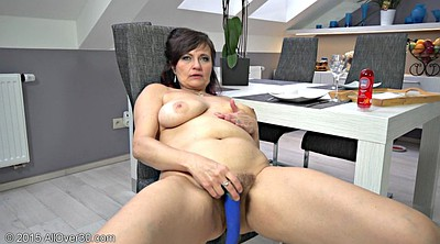 Masturbates, Mature lady, Horny mature