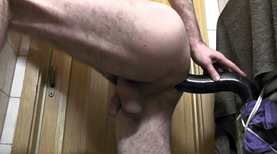 Monster, Masturbation, Deep dildo, Gay dildo, Worm, Dildo deep