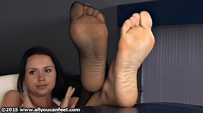 Nylon feet, Nylon foot, Feet nylon