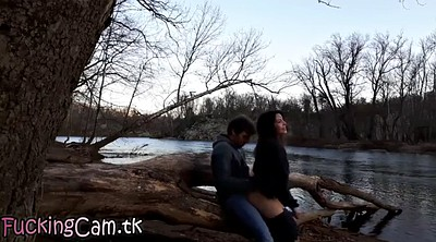 Public sex, Www, More, Outdoor creampie, Caught watching
