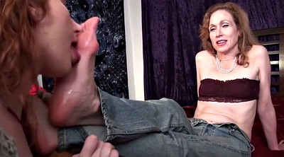 Old, Aunt, Mature foot, Mature feet, Femdom worship, Foot sole