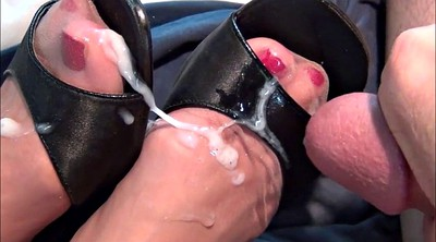 Nylon foot, Nylon feet, Stocking foot, Nylon shoe, Stocking feet, Shoe feet