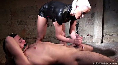 Whipping femdom, Whipping, Tied