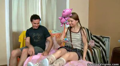 Virgin, Hymen, Pigtail, Virgin first time, Pigtails, First time gay