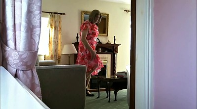Crossdresser, Mature solo, Granny solo, Dressing