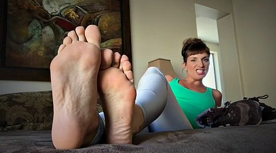 Smell, Sweaty, Mature feet