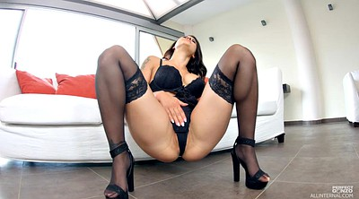 Stocking, Stock, Black stocking, Stockings solo, High heeled