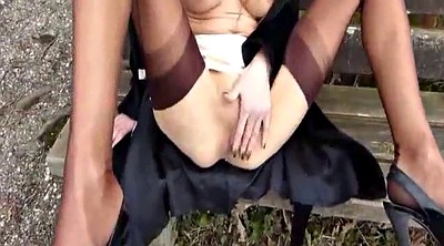 Wife, Park, Hot wife, Amateur fisting, Public fist, Outdoor fisting