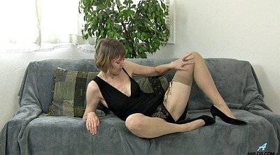 Stockings solo, Mature solo, Stocking mature
