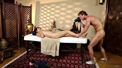 Father, Asian father, Teen massage