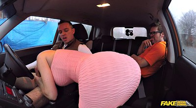 Fake taxi, Stupid, Car blowjob