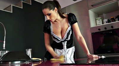 Maid, Sensual jane, Sensual, Milf kitchen