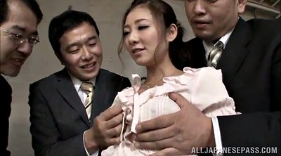 Asian big tits, Asian gangbang