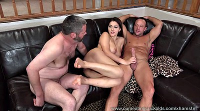 Husband, Wife sharing, Wife share, Sharing wife, Shared, Cum eating cuckold