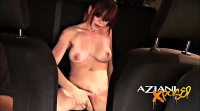Public naked, Public masturbation, Driving