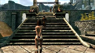 Strapon, Skyrim, Cartoons, Slavegirl