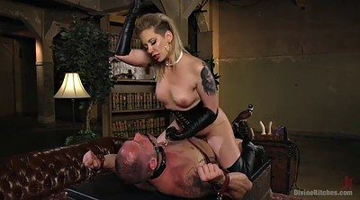 Boots, Boot, Leather, Mistress handjob