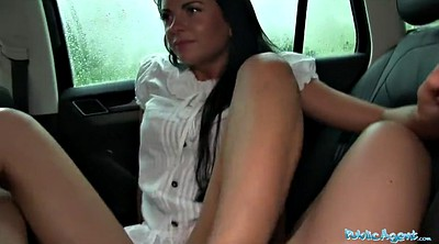 Public agent, Agent, Car blowjob