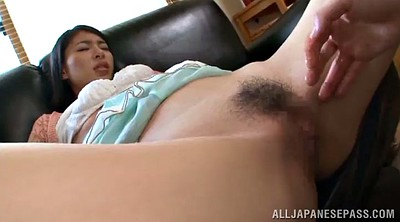 Hairy pussy, Pussy licked, Asian long hair