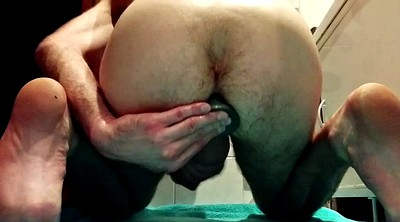Big, Dildo, Gay fisting, Ass gape
