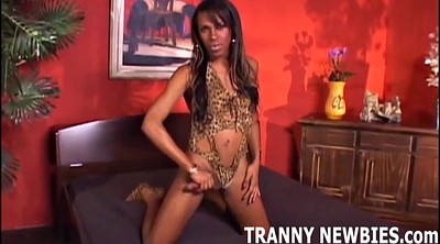 Tranny hard, Tranny big cock, Ebony shemale