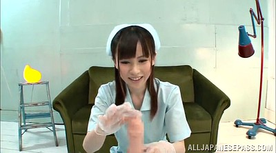 Nurse, Asian handjob, Nurse handjob