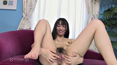 Hairy, Japanese uncensored, Uncensored, Dildo sucking