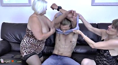 Toy, Old and young, Granny masturbation