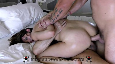Double penetration, Skinny anal, Sex ass, Anal double
