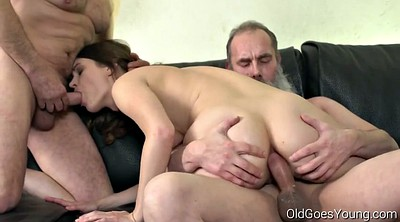 Old, Granny anal, Granny orgy, Old men, Talking, Anal orgy