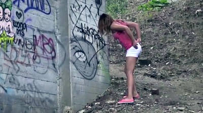 Pissing, Public piss, Hardcore compilation, Femdom piss