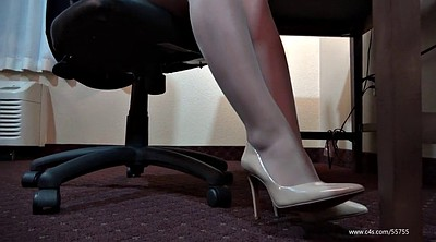 Pantyhose foot, Pantyhose fetish, Shoeplay, Pantyhose feet, Laura