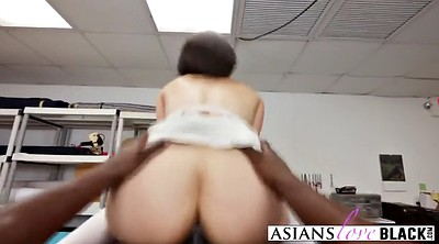 Asian & black, Seduce, Black fuck asian, Asian big tits, Asian big cock