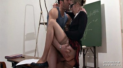School, French anal, Hard fisting, Teacher anal