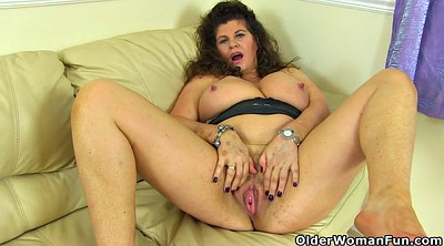 Mature clit, Milf nylon