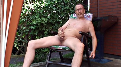 Old gay, Granny solo, Solo outdoor, Solo granny, Jerking, Garden