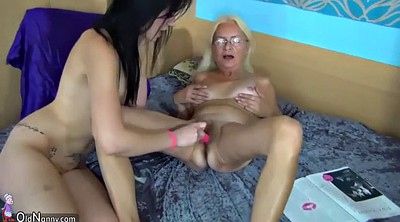 Teen and old, Old and young lesbian, Mature and young lesbians