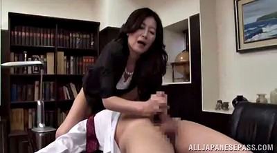 Asian mature, Boss, Out