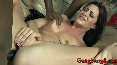 Pretty, Interracial gangbang, All