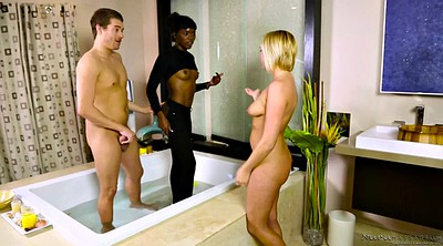 Kate englande, Kate england, Lucky b, Black massage, Threesome massage, Threesome masseuse