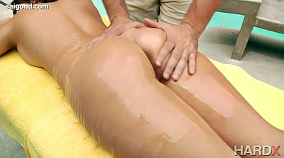 Teen, Massage creampie