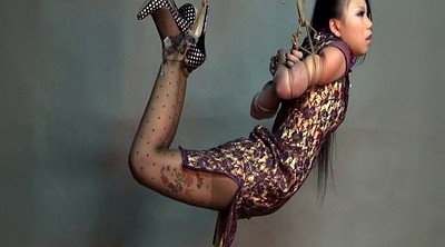 Extreme, Hogtied, Asian bondage, Chinese bdsm, Challenge, Hanging