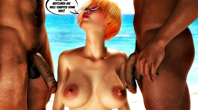 Wife, Cheat, Wife black, Interracial cuckold, Black cuckold, Comic