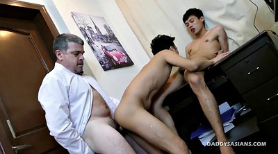 Asian granny, Old dad, Young dad, Old asian, Interracial asian, Asian young