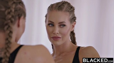 Nicole aniston, Creampie interracial