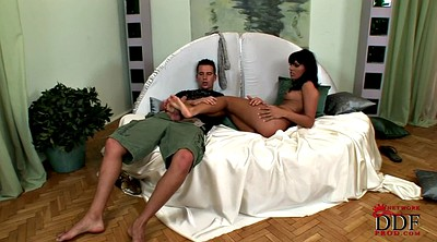 Footjob, Pantyhose footjob, Pantyhose foot