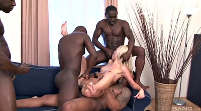 Double, Bbc gangbang, Long anal toys, Long cock, Bbc double, Black on blondes